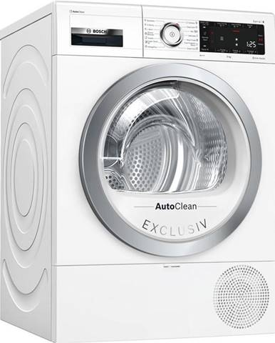 Sušička bielizne Bosch Serie   8 Wtx87kh0by biela