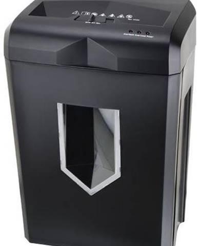 Skartovač Peach PS500-70 14 listů/ 18L/ křížový řez čierny