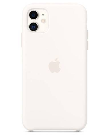 Kryt na mobil Apple Silicone Case pre iPhone 11 biely