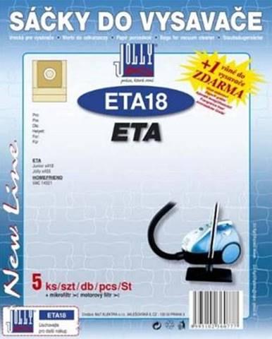 Sáčky pre vysávače Jolly ETA 18
