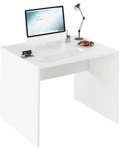 Písací stôl biela RIOMA TYP 12