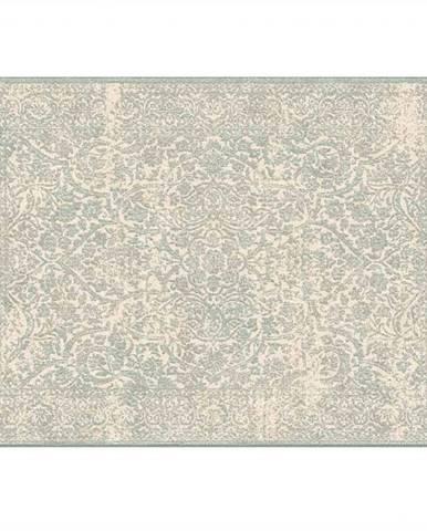 Koberec krémová/sivý vzor 140x200 ARAGORN