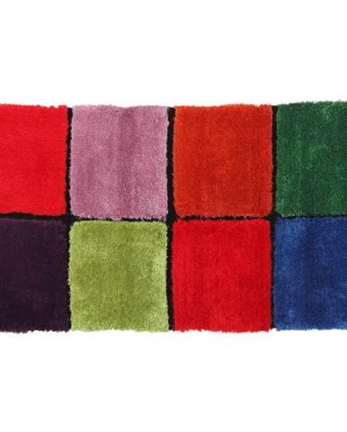 Koberec červená/zelená/ružová/modrá 80x150 LUDVIG TYP 4