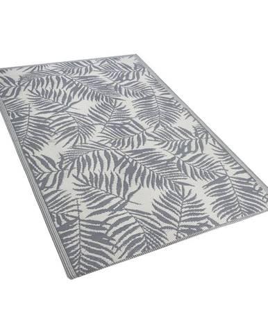 Tmavosivý vonkajší koberec Monobeli Casma, 120 x 170 cm
