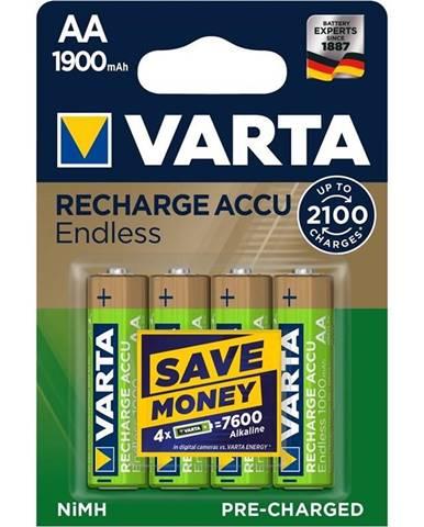 Batéria nabíjacie Varta Endless HR06, AA, 1900mAh, Ni-MH, blistr