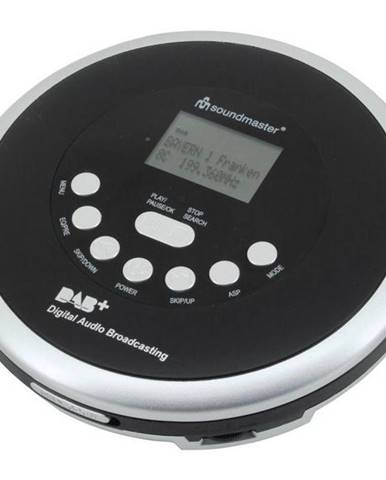 Discman Soundmaster Cd9290sw čierny/strieborn