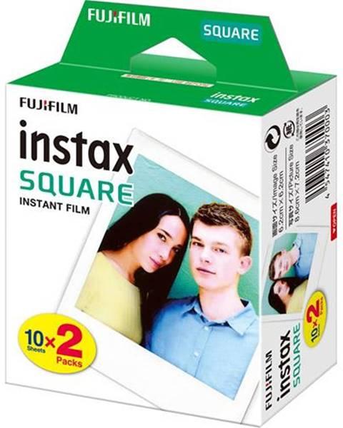 Fujifilm Instantný film Fujifilm Instax Square White 20ks