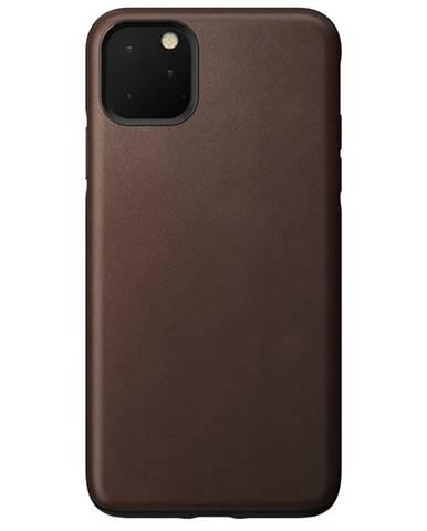 Kryt na mobil Nomad na Apple iPhone 11 Pro Max hnedý