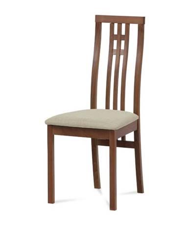 Jedálenská stolička AMANDA čerešňa/béžová