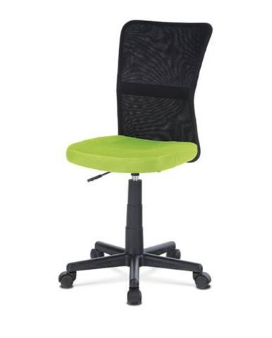 Kancelárska stolička BAMBI zelená/čierna