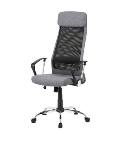 Kancelárska stolička EDISON sivá