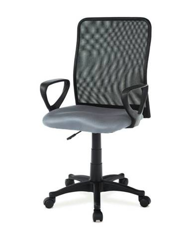 Kancelárska stolička FRESH sivá/čierna