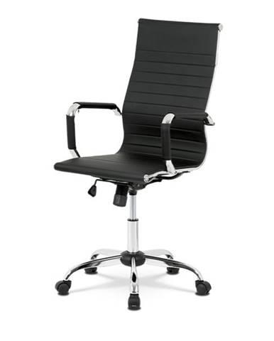 Kancelárska stolička HUGO čierna