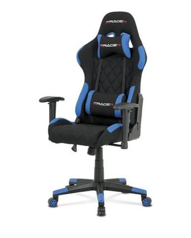 Kancelárska stolička NIKI modrá/čierna