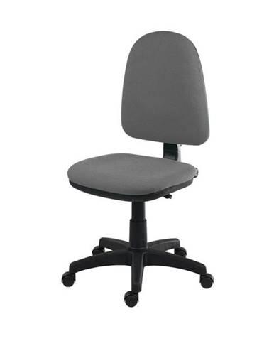 Otočná stolička ELKE sivá