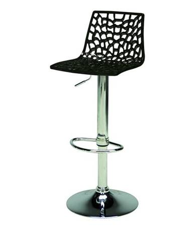 Barová stolička SPIDER čierna