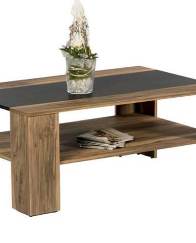 Konferenčný stolík DAKOTA orech satin/touchwood