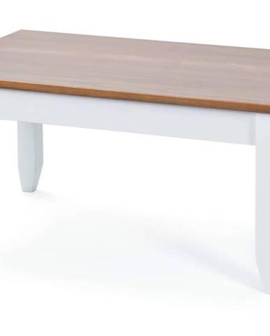 Konferenčný stolík WESLEY borovica biela/hnedá