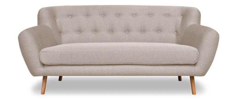 Sivobéžová pohovka Cosmopolitan dizajn London, 162 cm